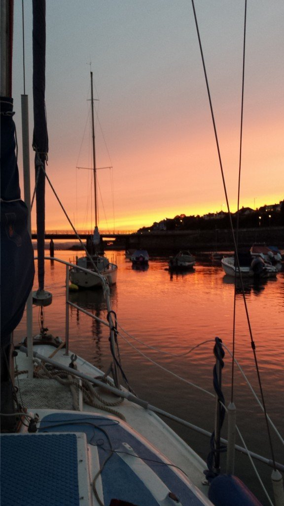 Sunset on the River Teign