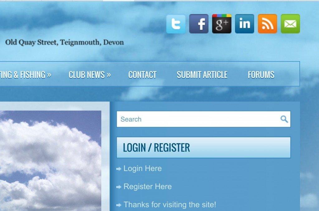 forums screenshot