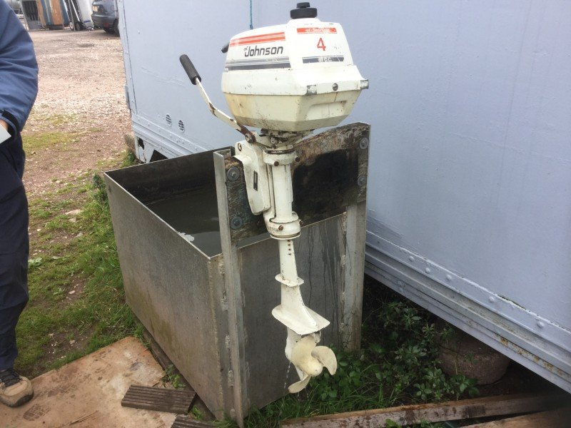 ** AUCTION ** 4hp Johnson ** NO RESERVE **