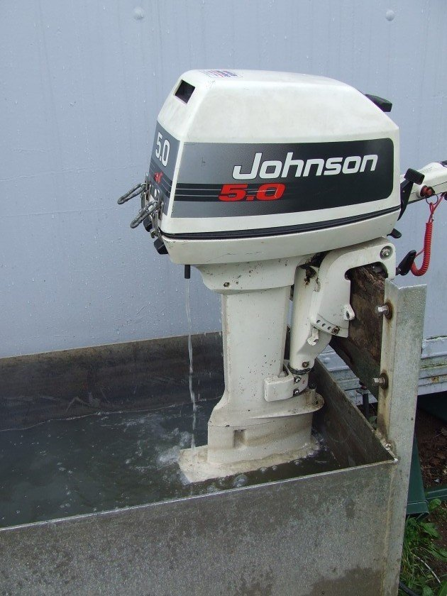 Johnson 5hp with 12 litre fuel tank *SOLD*