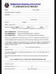 membership renewal form 2017