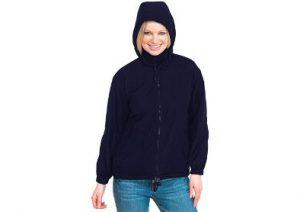 Navy Blue Uneek Waterproof Reversible Fleece